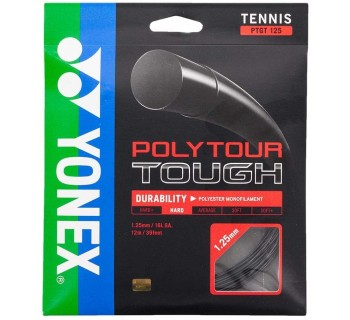Yonex Polytour Tough BLACK 125 Tennis String 12M Set
