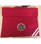 Llanedeyrn Bookbag RED O/S