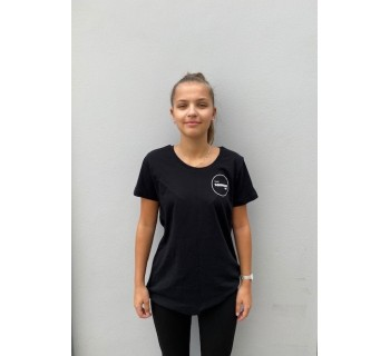 Squash Pod Women's T-Shirt (Cotton) BLACK