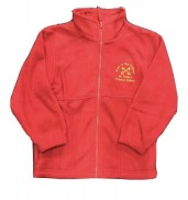 St Peters Primary Fleece Red