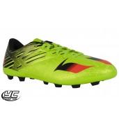 015bda6d68b4 Adidas 15.4 JR FxG Football Shoe Lime Green   Black