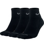Nike Dri-FIT Half-Cushion Quarter Socks (3 Pair)