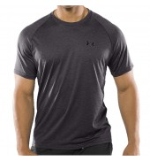 Under Armour  Tech Tee CBH Carbon Heather/Black