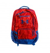 Under Armour Hustle Backpack (838 Red/Royal)