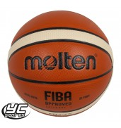 Molten Synthetic Leather Cushioned Basketball (BGG7X Size 7)