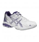 ASICS Gel Academy 5 Netball Shoe (0163 White/Indigo/Silver)