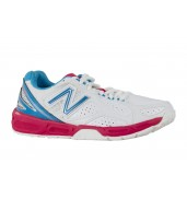 New Balance WN1100 White/Blue Netball Shoes
