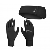 Nike Women's Essential Running Headband And Glove Set