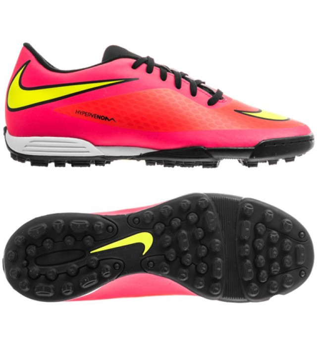 Home Nike Hypervenom Phade TF Junior Astro Turf Shoes