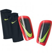 Nike Mercurial Lite Shinguards (Black/Hyper Punch/Volt)