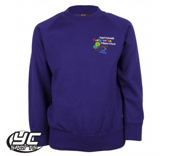 Pontprennau Primary Purple Sweatshirt