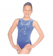 Panache Sleeveless Leotard (Navy, Z103PAN)