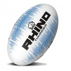 Rhino Thunder Rugby Ball WHITE/BLUE S5