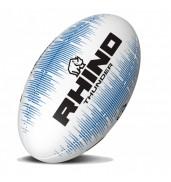 Rhino Thunder Rugby Ball WHITE/BLUE S5