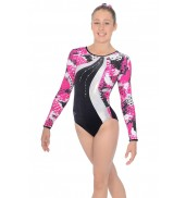 Zone Carnival Print Sleeveless Leotard Z943CAR Carnival