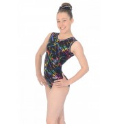 Zone Macy AllOver Print Sleeveless Leotard Z943MAC Macy