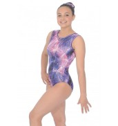 Zone Twilight Print Sleeveless Leotard Z943TWI Twilight