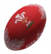 Gilbert WRU Rugby Beach Ball Red