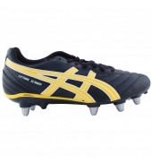 ASICS Lethal Scrum Rugby Boots (Black/Yellow/White)