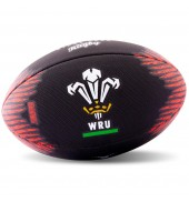 Gilbert WRU Rugby Beach Ball Black
