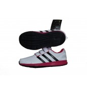 Adidas Intersport CF Kids Running Shoe White/Pink