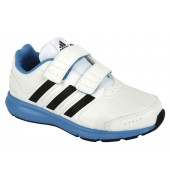 adidas Intersport Kids Running Shoe (White/Blue)
