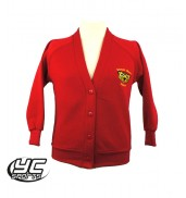 Mount Stuart Primary School Red Cardigan