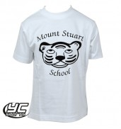Mount Stuart Primary School White PE Tshirt