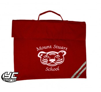 Mount Stuart Primary School Red Bookbag