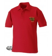 Mount Stuart Primary School Red Polo