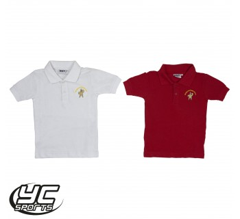 Birchgrove Primary School Polo (Choose White or Red)