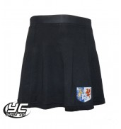 Cantonian High School Black Skort