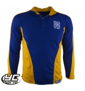 Cantonian High School Royal/Amber Rugby Jersey