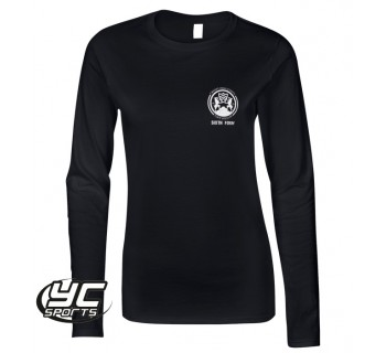 2019 Cardiff High 6th Form fitted T-Shirt long sleeve