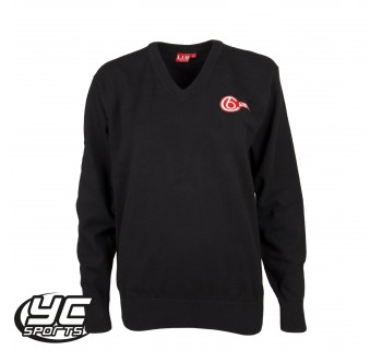 Cardiff 6th Form Girls Black Jumper