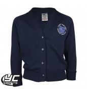 Christ The King Navy Cardigan