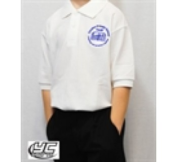 Coryton Primary School White Polo (Junior Sizes)