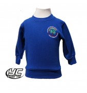 Glyncoed Primary School Sweatshirt Royal (2018)