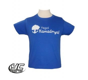 Ysgol Hamadryad PE T-Shirt