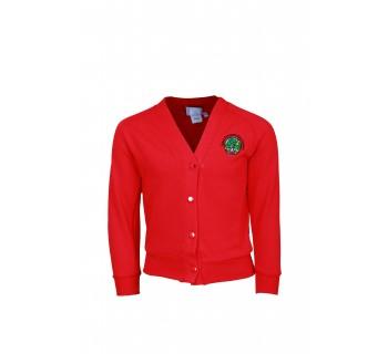 Ysgol Glan Ceubal Red Cardigan