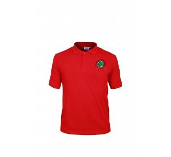 Ysgol Glan Ceubal Red Polo