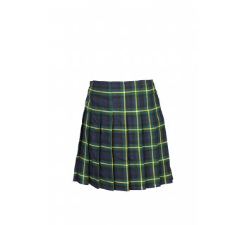 Kings Monkton Tartan School Skirt