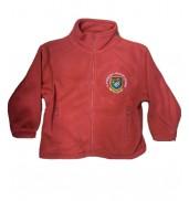 Llanedeyrn Primary School fleece Red