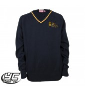 Kings Monkton Boys Navy/Gold Jumper