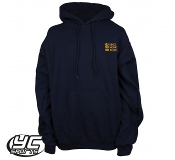 Kings Monkton Navy PE Hooded Sweatshirt