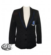 Llanishen High School Girls Blazer Black/Royal