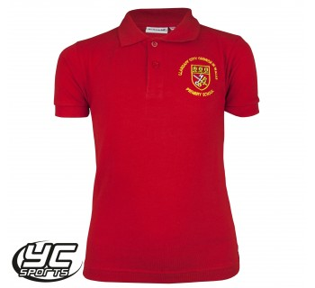 Llandaff City Primary School Polo (Junior Sizes, Choose Your Colour)