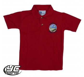 Meadowlane Primary School Red Polo