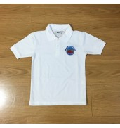 Millbank Primary School White Polo
