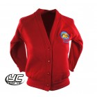 Mount Stuart Primary School Red Cardigan (New Version)